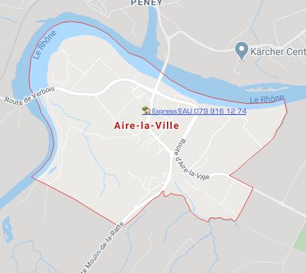 1288 Aire la Ville - Express'EAU Plombier Genève